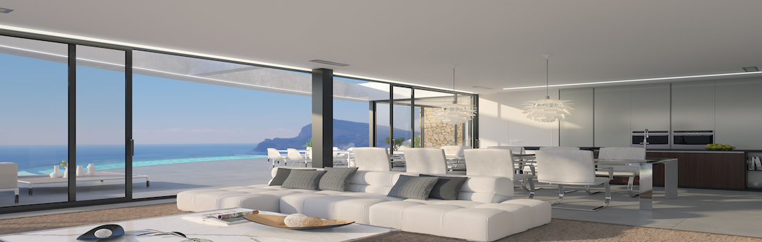 Sale of modern houses Altea
