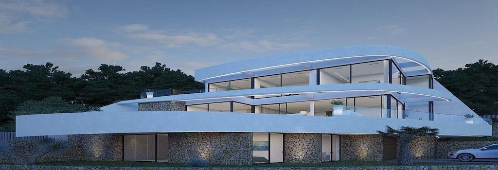Newly built properties with minimalist design Altea