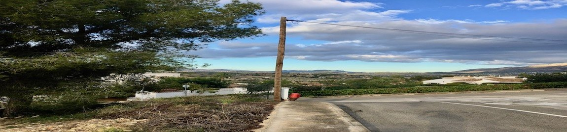 Grundstücke zum Verkauf in Urbanisation Rafalet in Javea