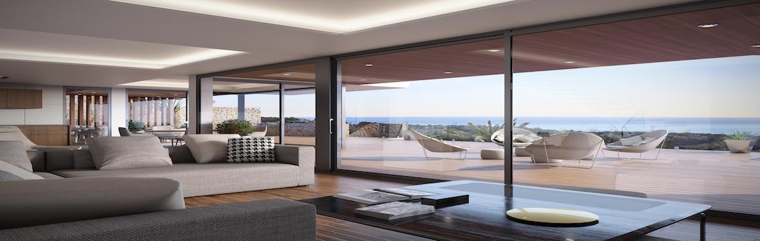 For sale modern villas in Moraira