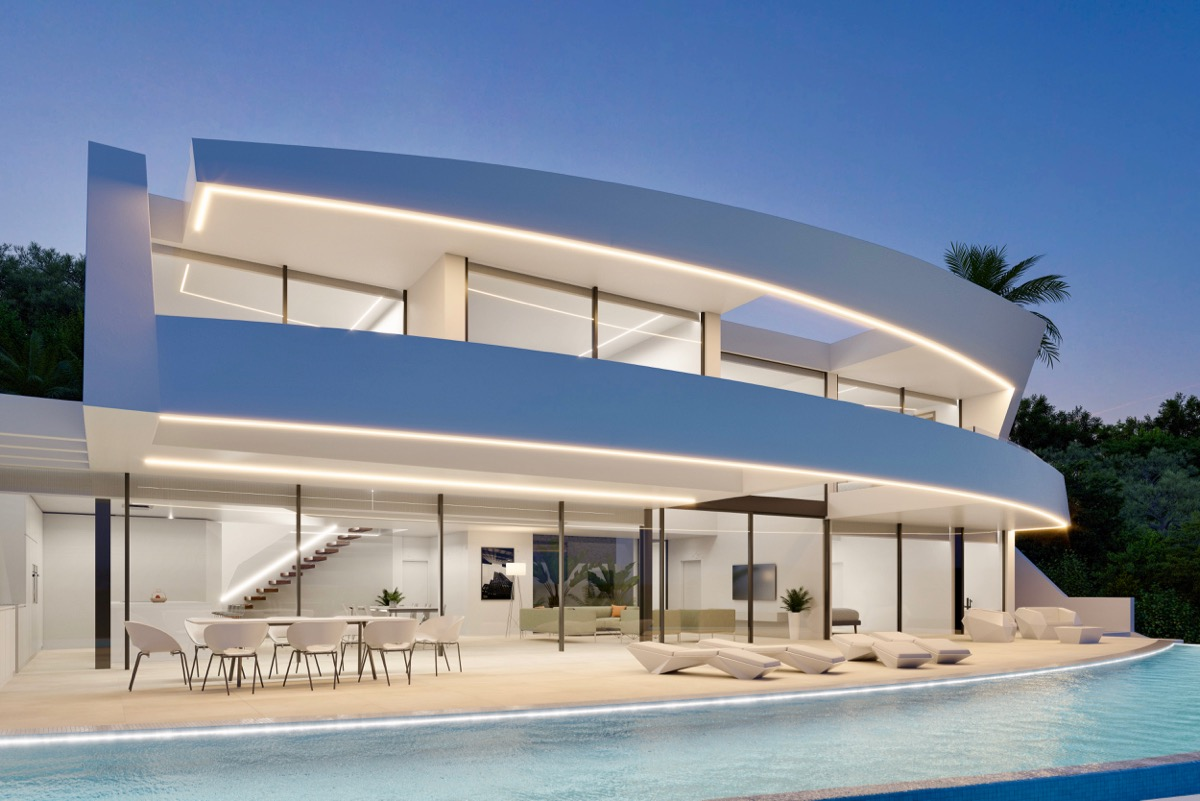 Luxury real estate in Moraira