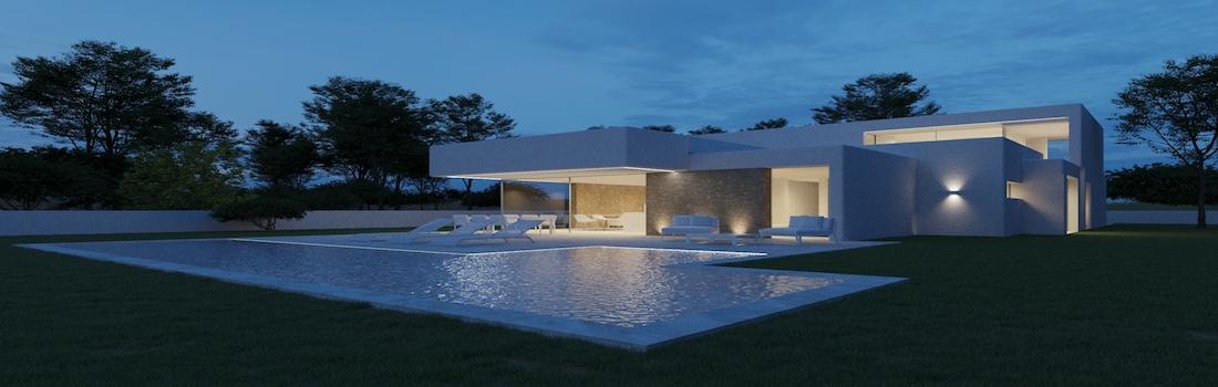Newly built properties with minimalist design Costa Blanca