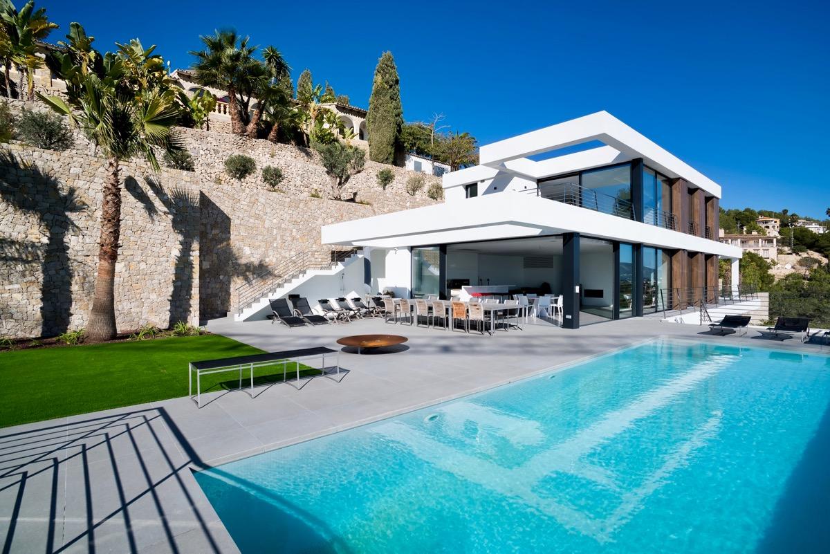Casas de obra nueva en venta en Benissa, Villas de nueva construcción en venta en Benissa, proyectos de obra nueva en venta en Benissa