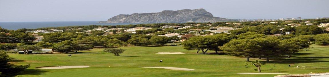 Villas and houses for sale near La Sella Golf Resort, Club de Golf Jávea, Club de golf Ifach Benissa y Golf Club Oliva Nova Golf.