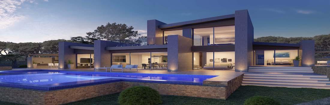 New modern villas Jávea