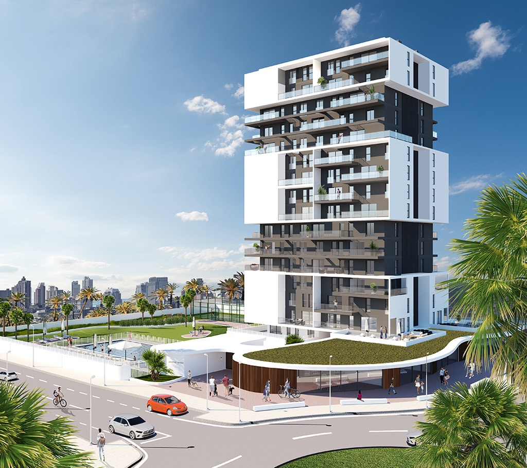 Calpe Sunrise Tower, new construction apartments for sale in Calpe