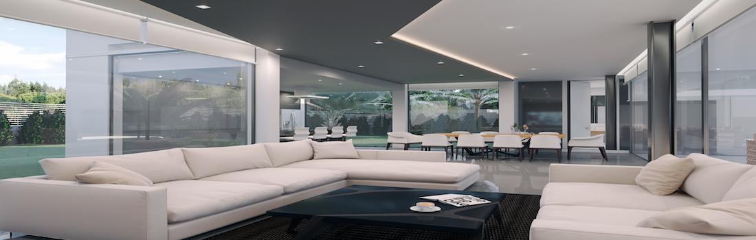 For sale modern villas in Altea