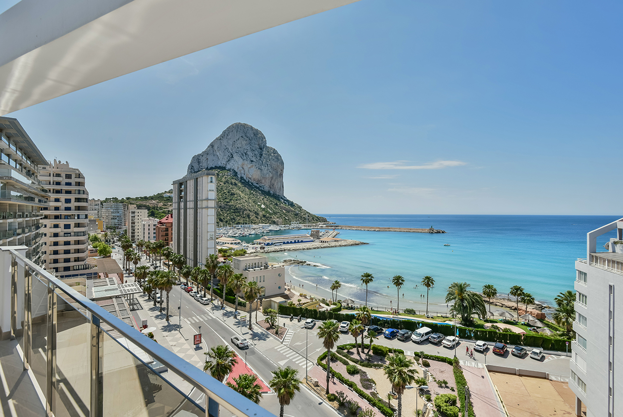 modern new construction apartments for sale in Calpe Costa Blanca
