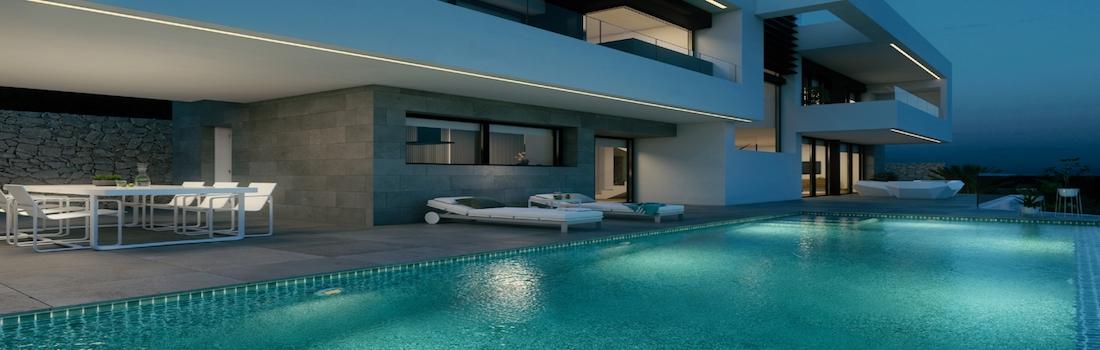 Newly built minimalist villas Moraira