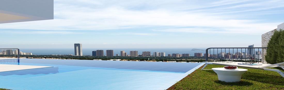 Newly built properties with minimalist design Benidorm - Finestrat