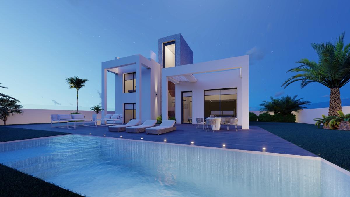Villa de nueva construccion con vistas al Mar en Finestrat, Sunny Hills Resort