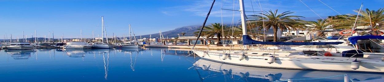 Nautische Clubs und Yachthäfen in Dénia Jávea Moraira Benissa