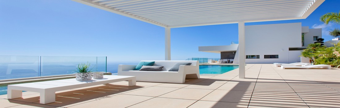New build houses with sea views Costa Blanca
