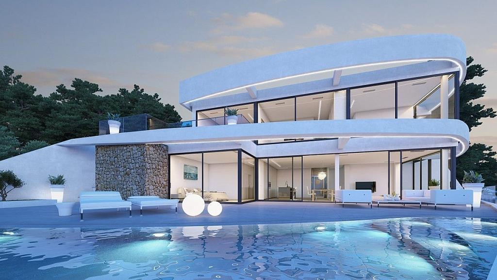 Luxury houses and luxury villas for sale on the Costa Blanca new construction and second hand