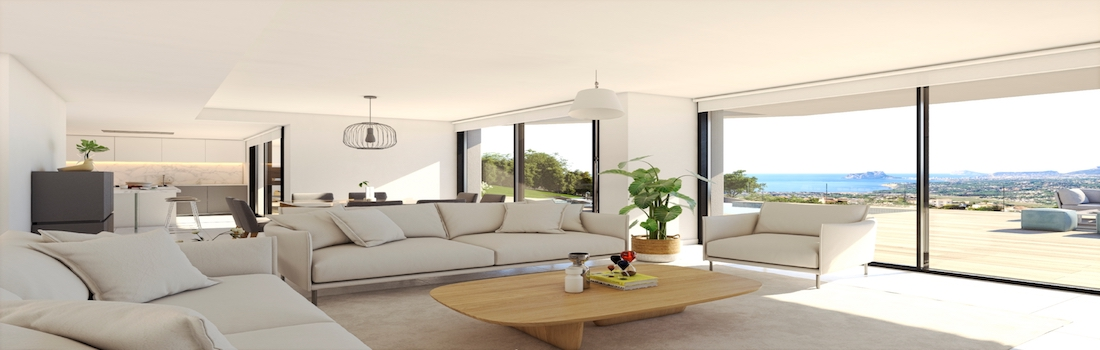 Sale of modern houses Cumbre del Sol Benitachell