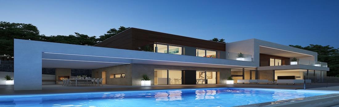 New modern villas Calpe