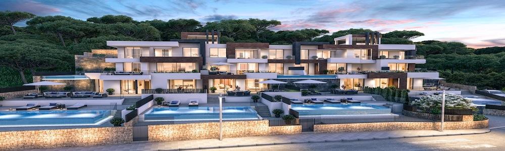 Neu entwickeltes Wohngebiet in Benidorm