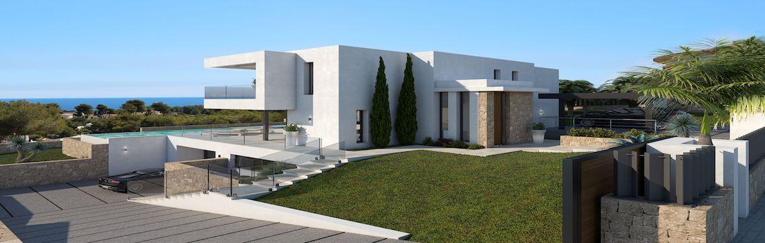 Newly built minimalist villas Jávea