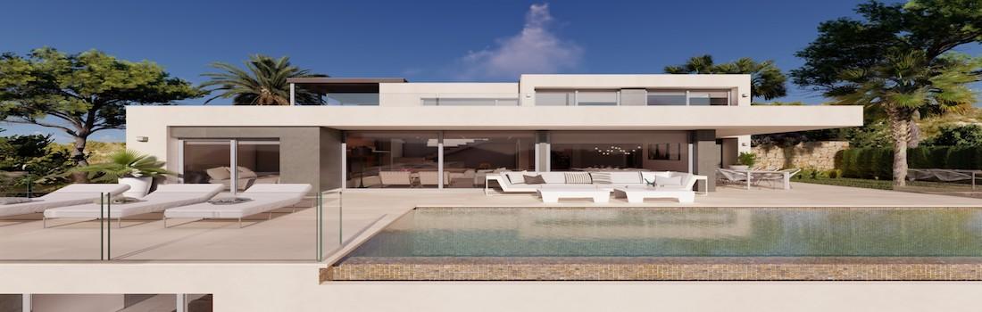 New build houses Moraira