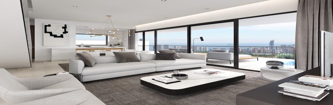 For sale modern villas in Benidorm - Finestrat