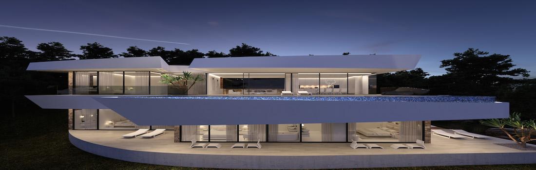 New modern villas Altea