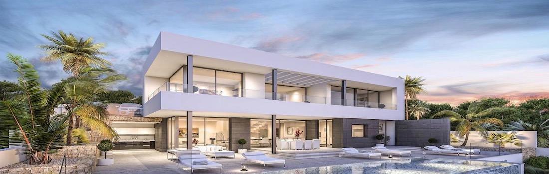 Newly built minimalist villas Altea