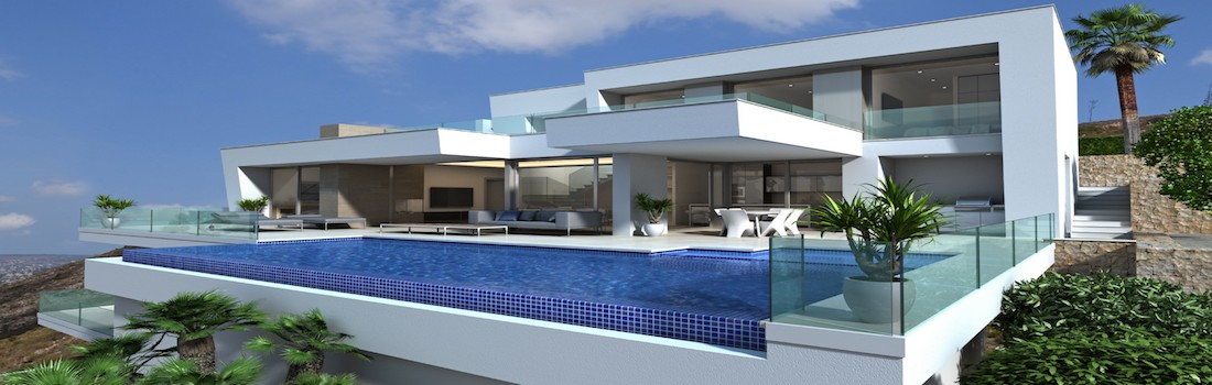 New build houses Calpe