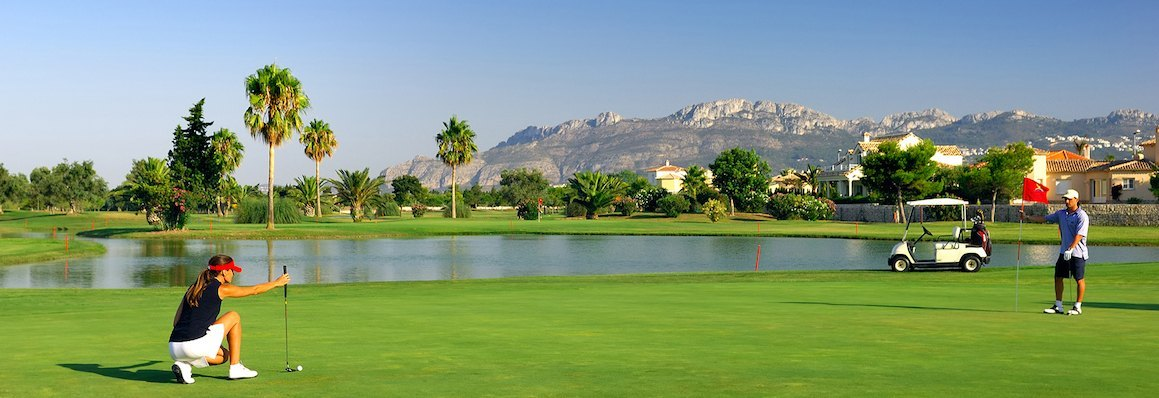 Golf courses in the Costa Blanca