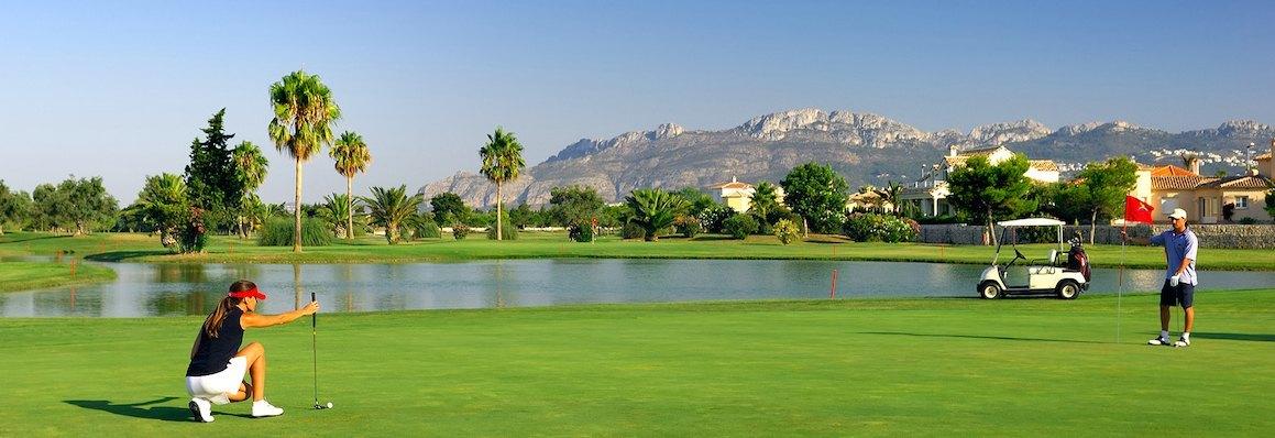 Parcours de golf à la Costa Blanca