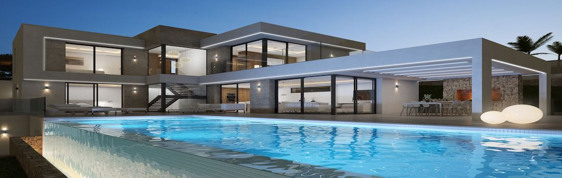 Newly built properties with minimalist design Calpe