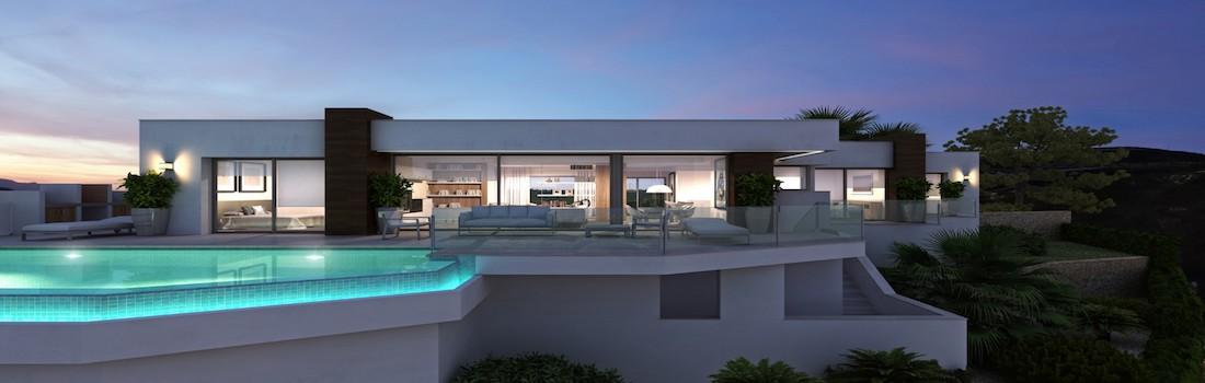 New modern villas Benitachell