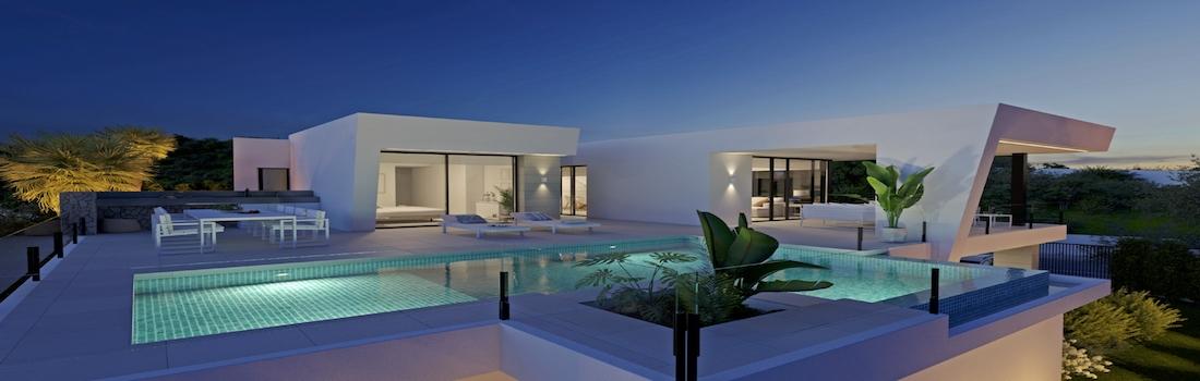 Newly built houses with minimalist design Benidorm - Finestrat