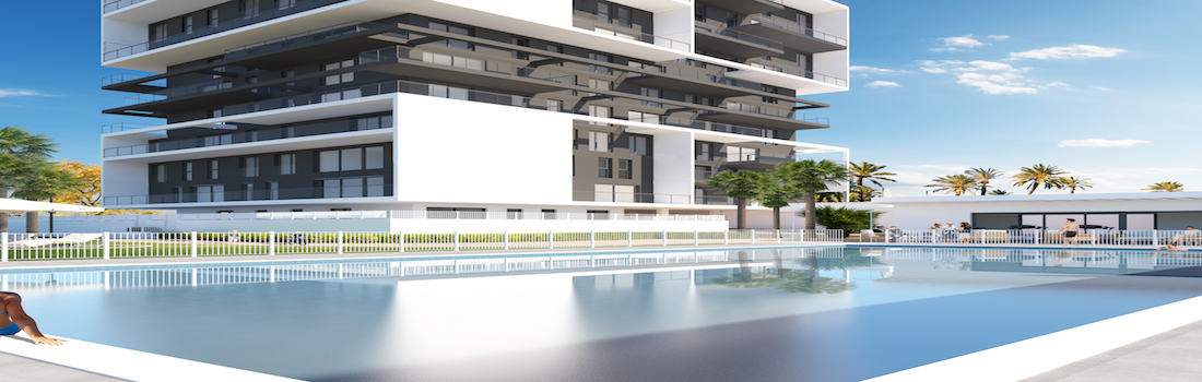 New modern apartments and penthouses Calpe