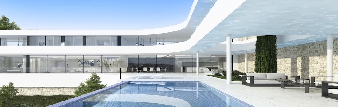Newly built houses with minimalist design Jávea