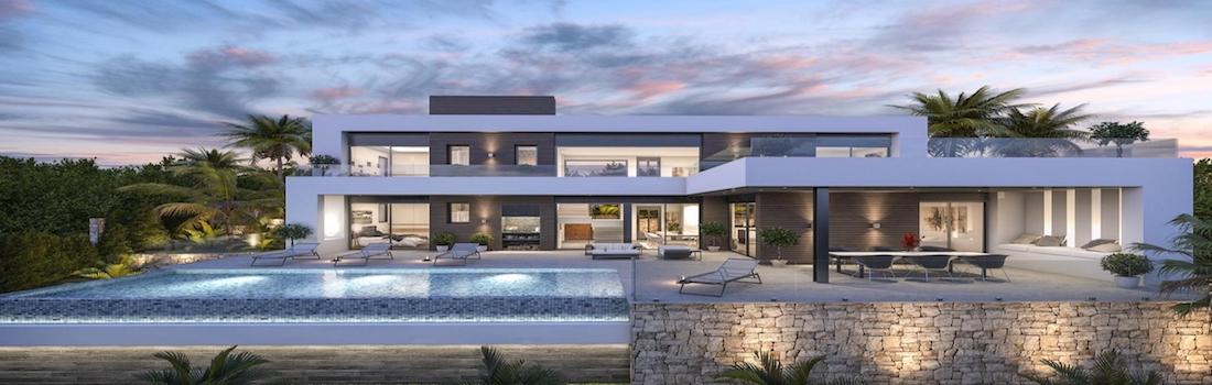 Newly built minimalist villas Dénia