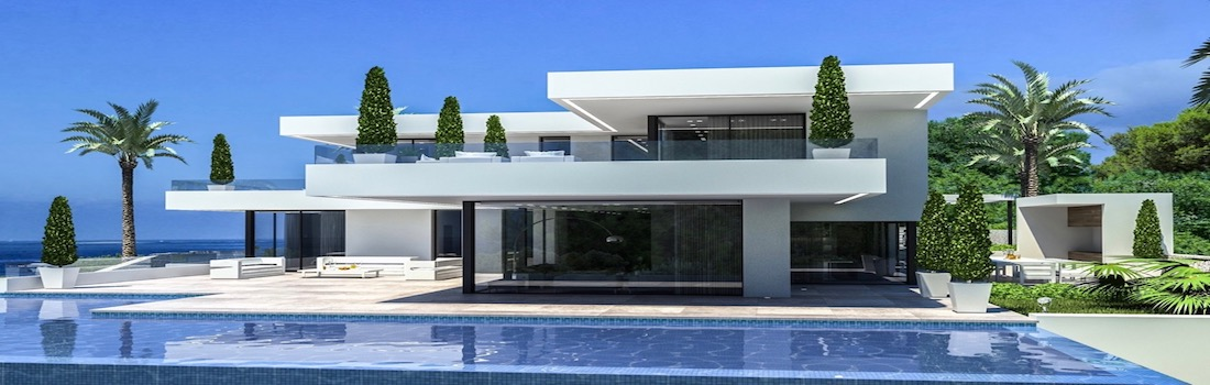 Newly built properties with minimalist design Dénia