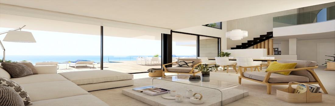 Sale of modern houses Moraira