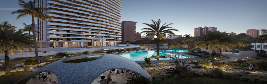 Nouveaux appartements et penthouses modernes sur la Costa Blanca