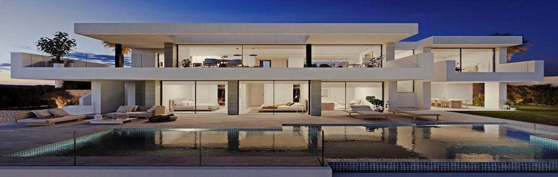 Newly built minimalist villas Benissa