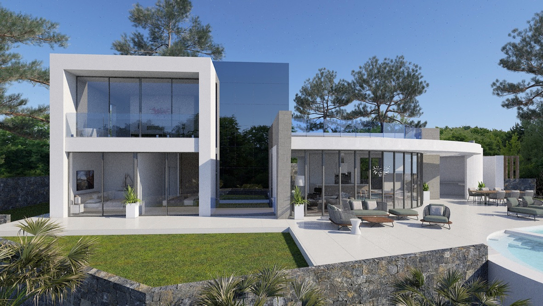 Luxury houses and luxury villas for sale in Jávea on the Costa Blanca new construction and second hand