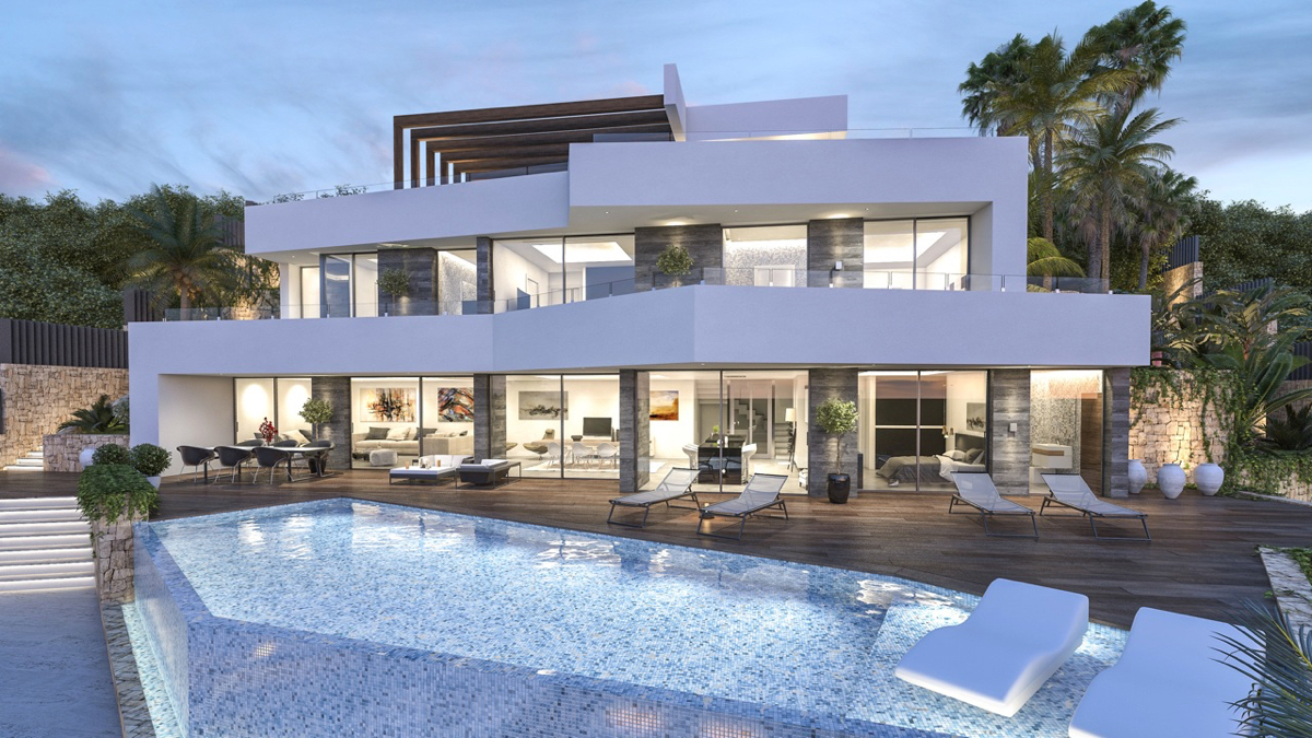 Modern houses and villas of new construction design in Benissa | Holidaydream
