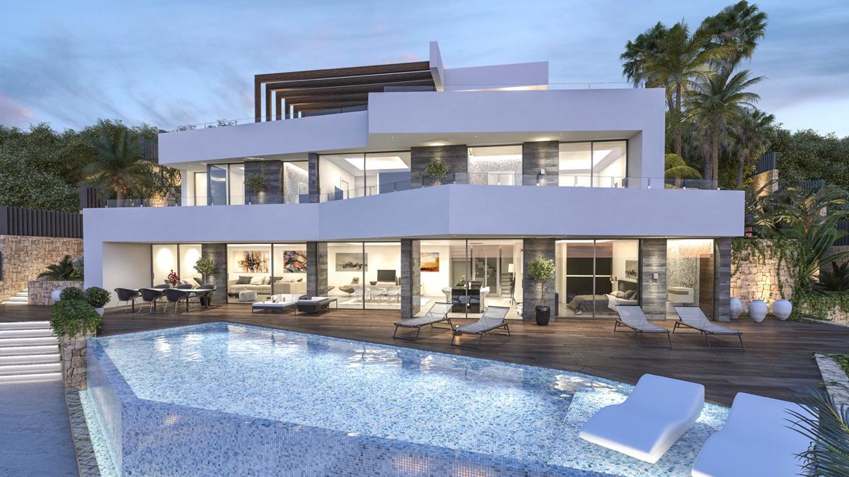 Casas y Villas modernas de diseño de nueva construcción en Benissa | Holidaydream