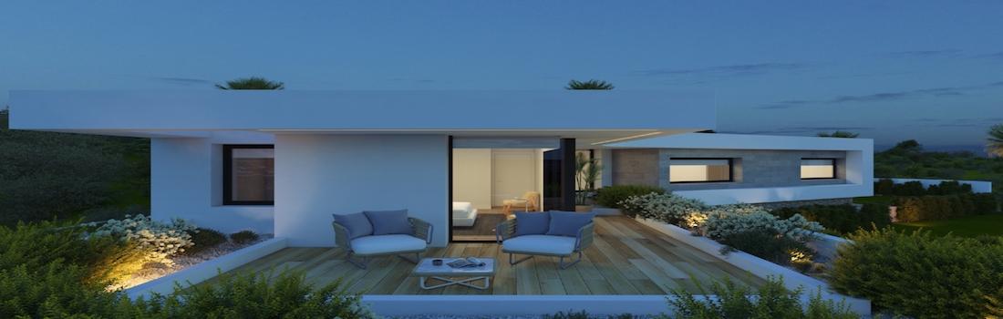 New build houses Dénia
