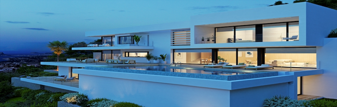 Newly built properties with minimalist design Benitachell