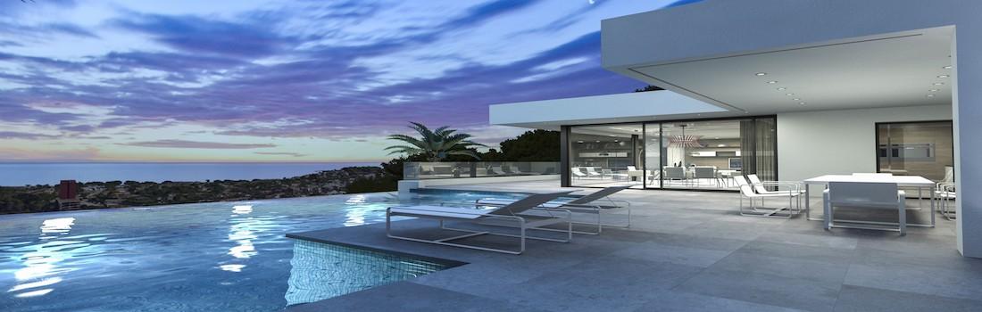 New modern villas Dénia