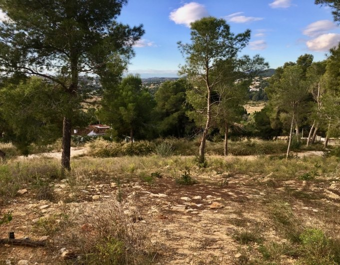Plot for sale in Rafalet Jávea
