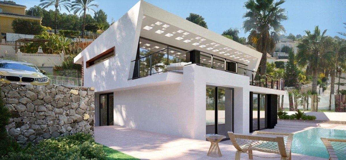 Villa moderne de nouvelle construction à v...