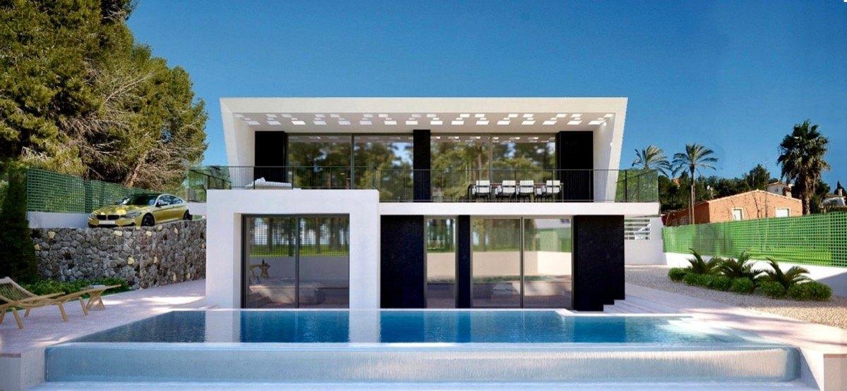 Modern New construction villa in Calpe, Co...