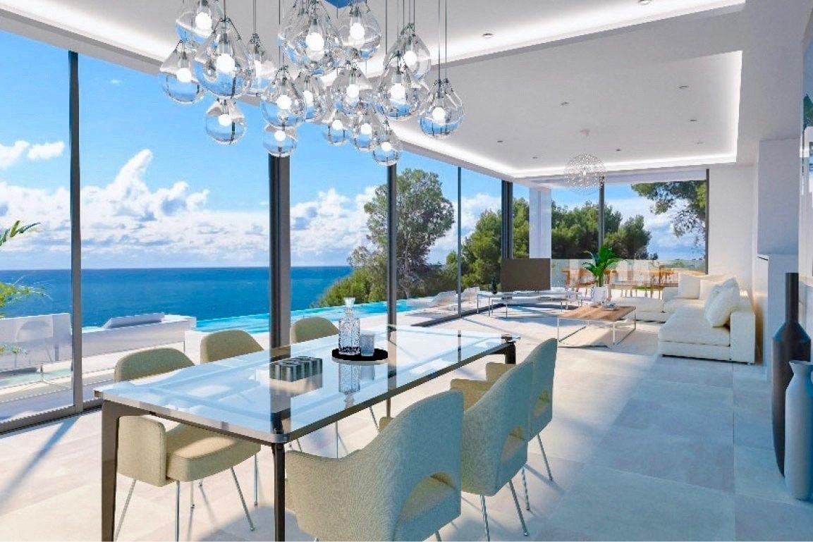 Moderne Neubauvilla zum Verkauf in Benissa...