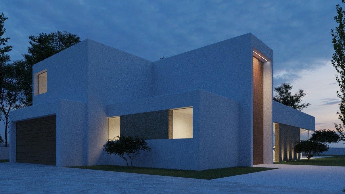 Chalet de obra nueva moderna en venta en Moraira, Paichi